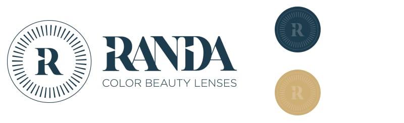 Randa Lenses Logo ontwerp