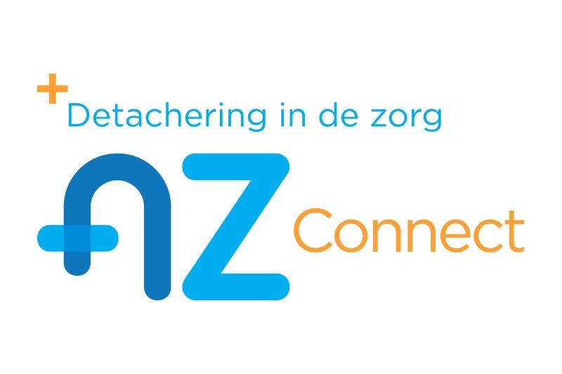 AZ Connect detachering logo laten ontwerpen in Utrecht bij Nourmedia