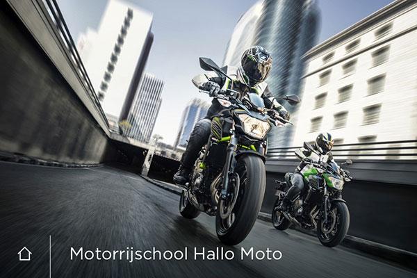 Wordpress Websites, huisstijl en drukwerk Motorrijschool Hallo Moto