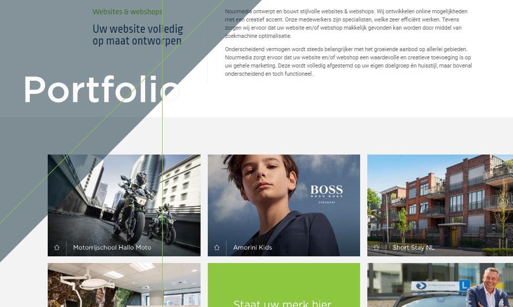 Website portfolio Nourmedia